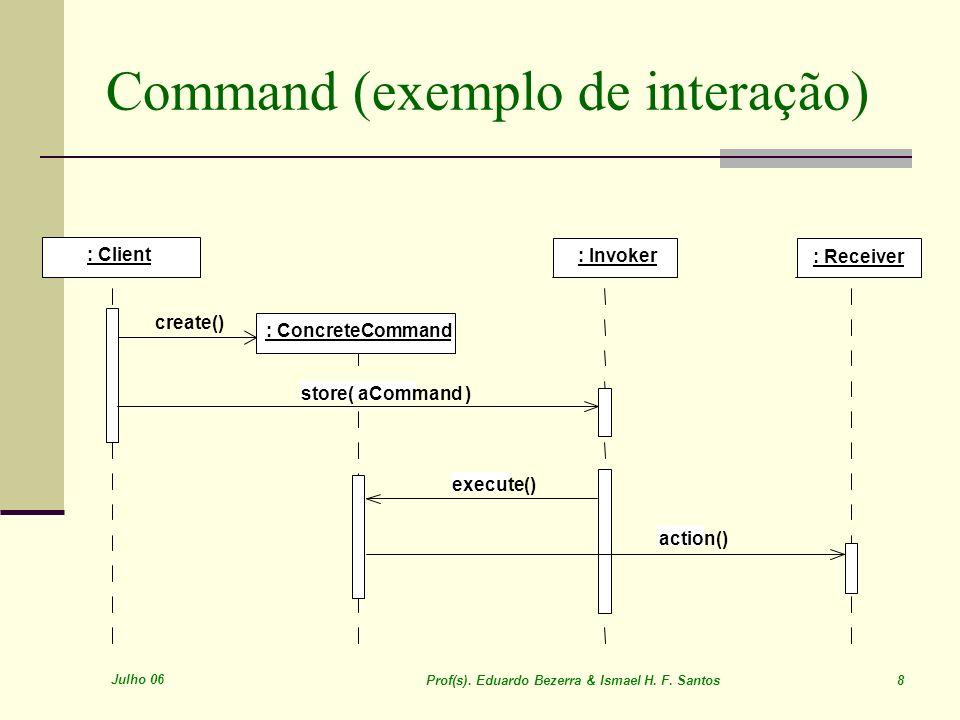 Command (exemplo de interação)
