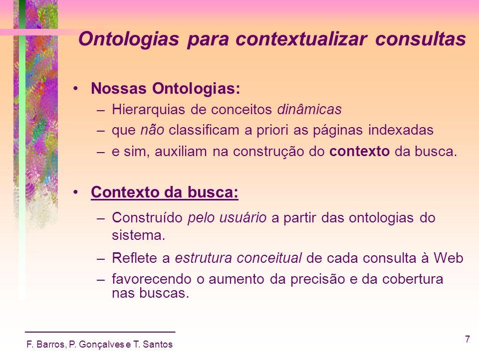 Ontologias para contextualizar consultas