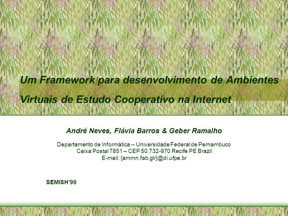 André Neves, Flávia Barros & Geber Ramalho