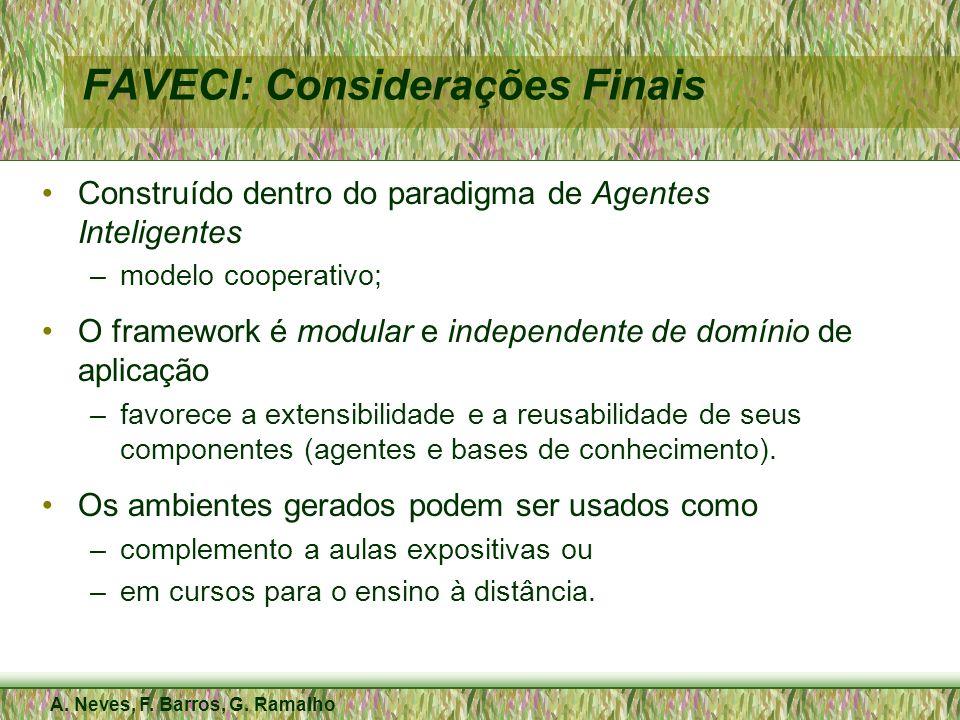 FAVECI: Considerações Finais
