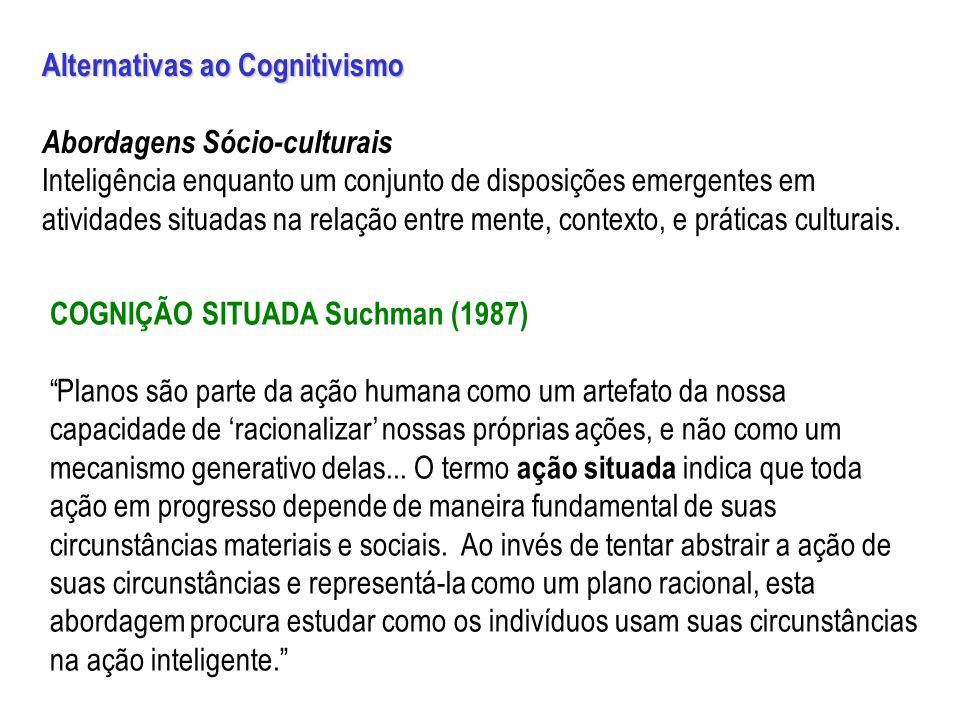 Alternativas ao Cognitivismo