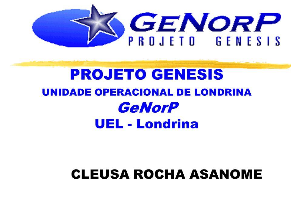 PROJETO GENESIS UNIDADE OPERACIONAL DE LONDRINA GeNorP UEL - Londrina