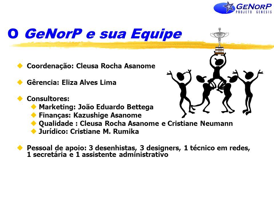 O GeNorP e sua Equipe Coordenação: Cleusa Rocha Asanome