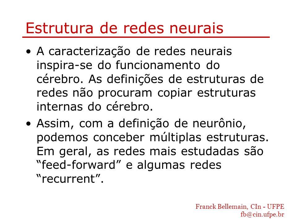 Estrutura de redes neurais
