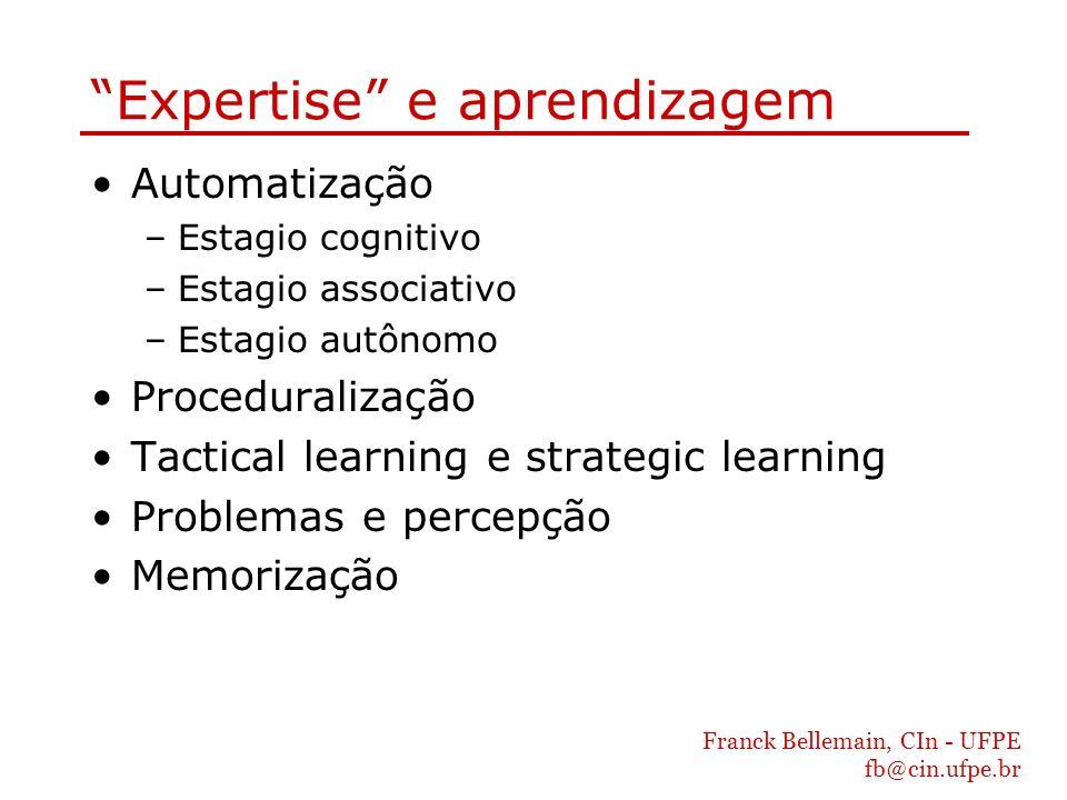 Expertise e aprendizagem