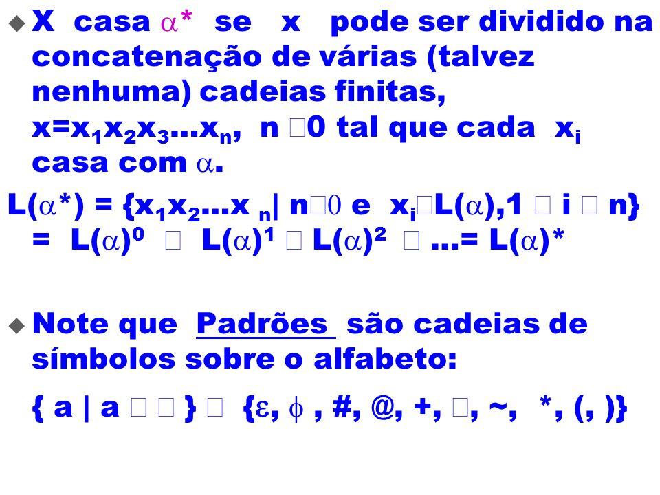 { a | a Î å } È {e, f , #, @, +, Ç, ~, *, (, )}