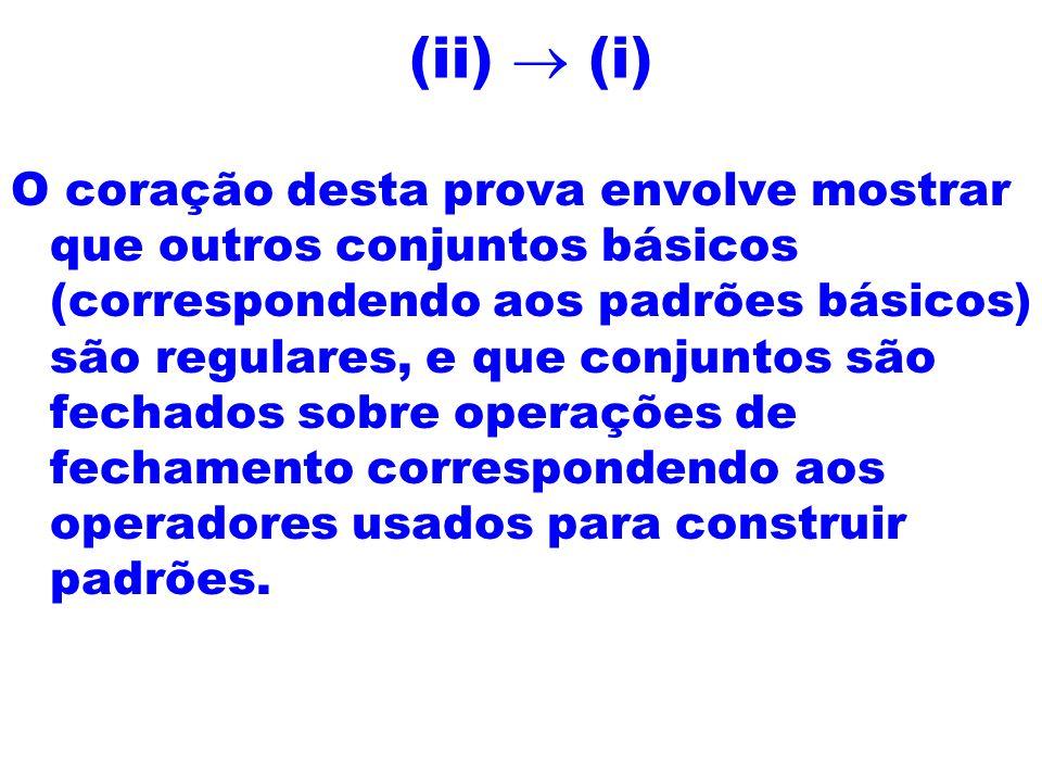(ii) ® (i)