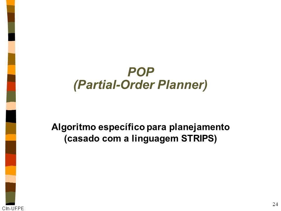 POP (Partial-Order Planner)