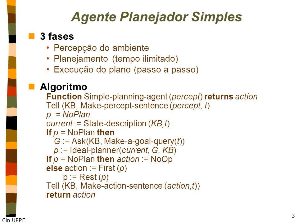 Agente Planejador Simples