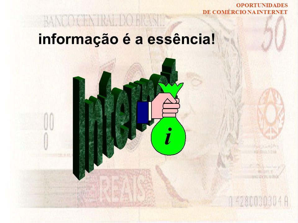 informação é a essência!