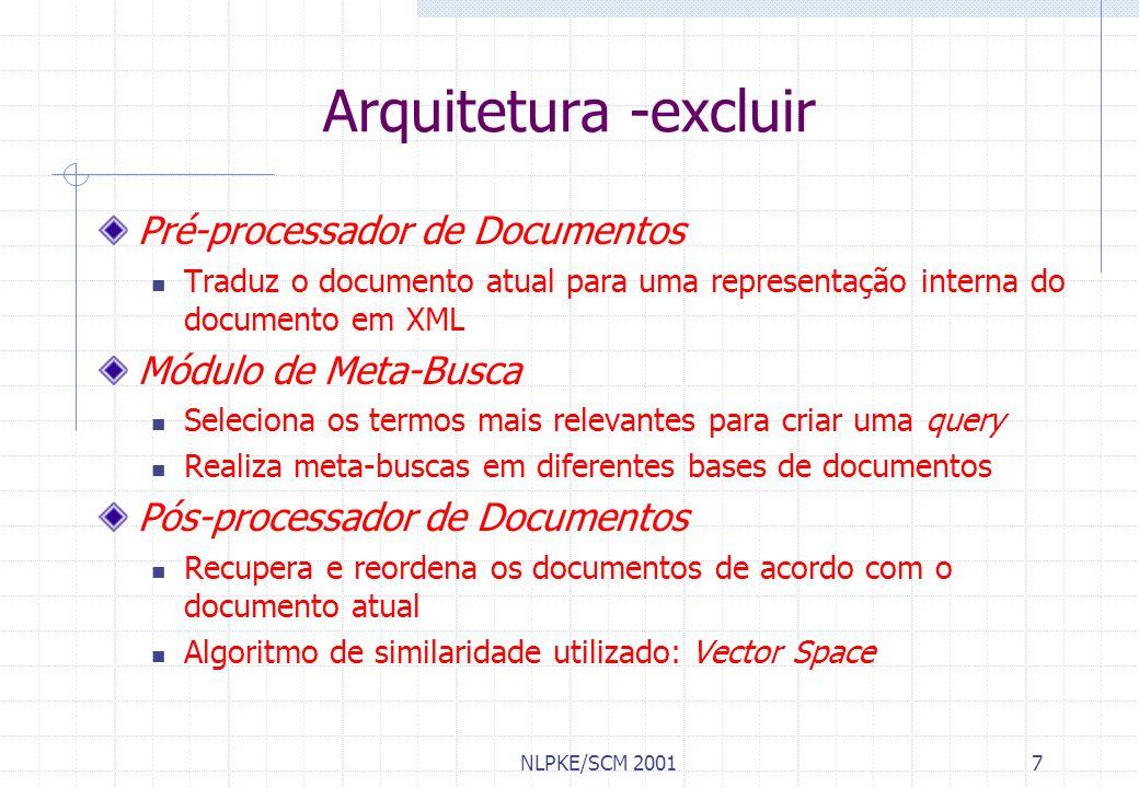 Arquitetura -excluir Pré-processador de Documentos