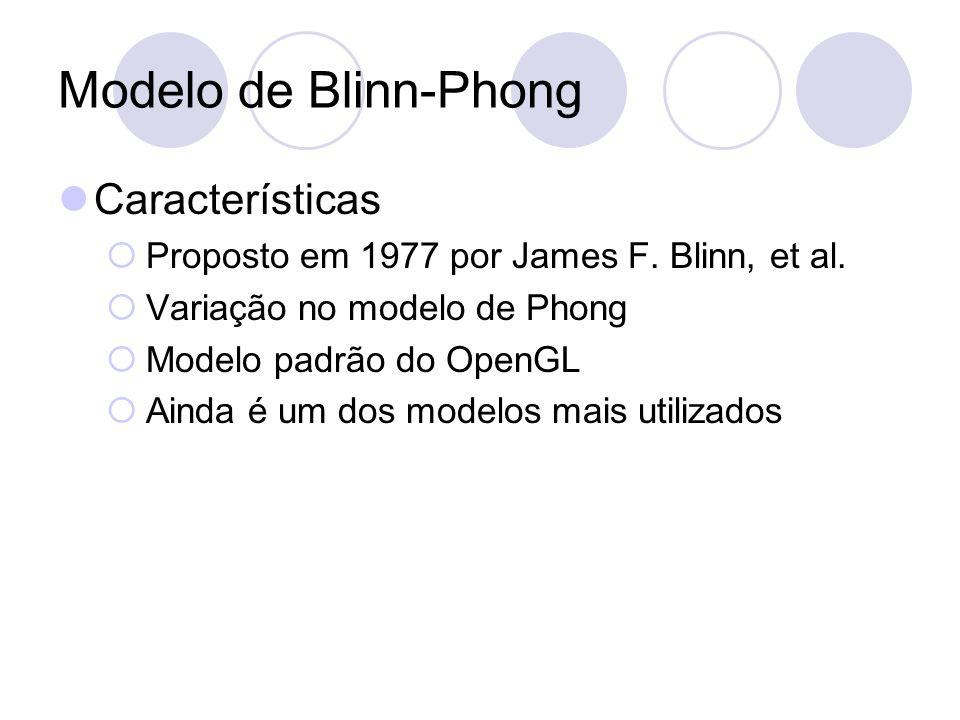 Modelo de Blinn-Phong Características