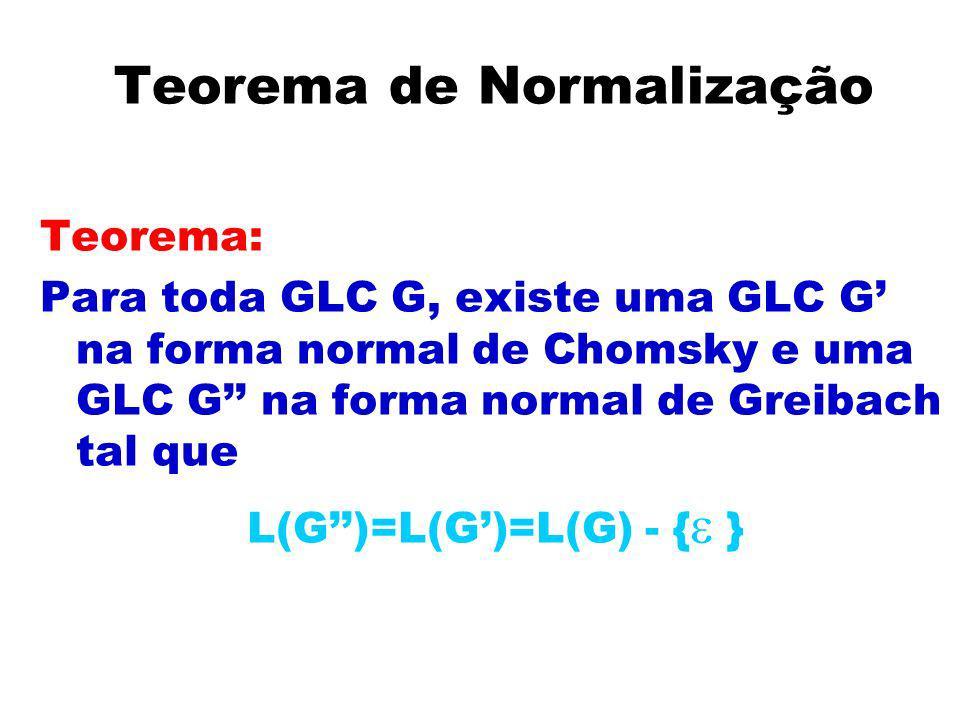 Teorema de Normalização