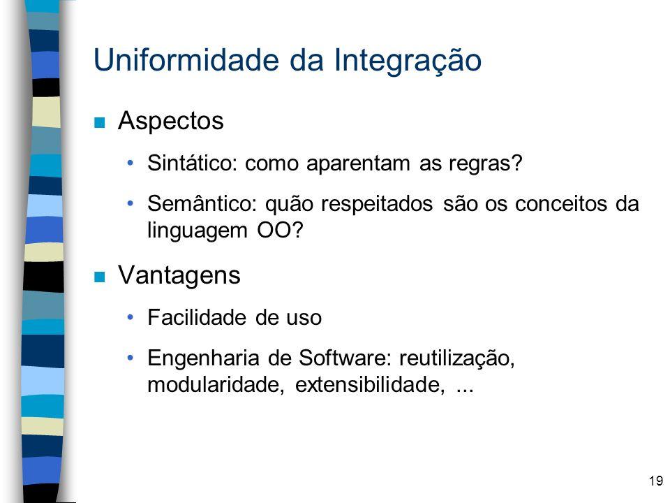 Uniformidade da Integração