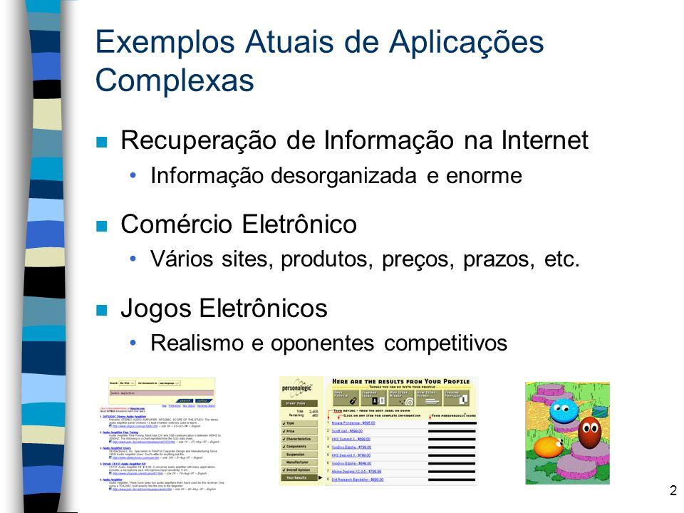 Exemplos Atuais de Aplicações Complexas