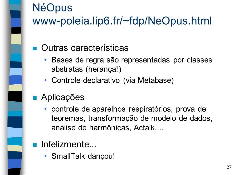 NéOpus www-poleia.lip6.fr/~fdp/NeOpus.html