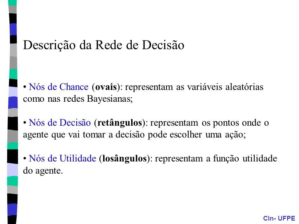 Descrição da Rede de Decisão