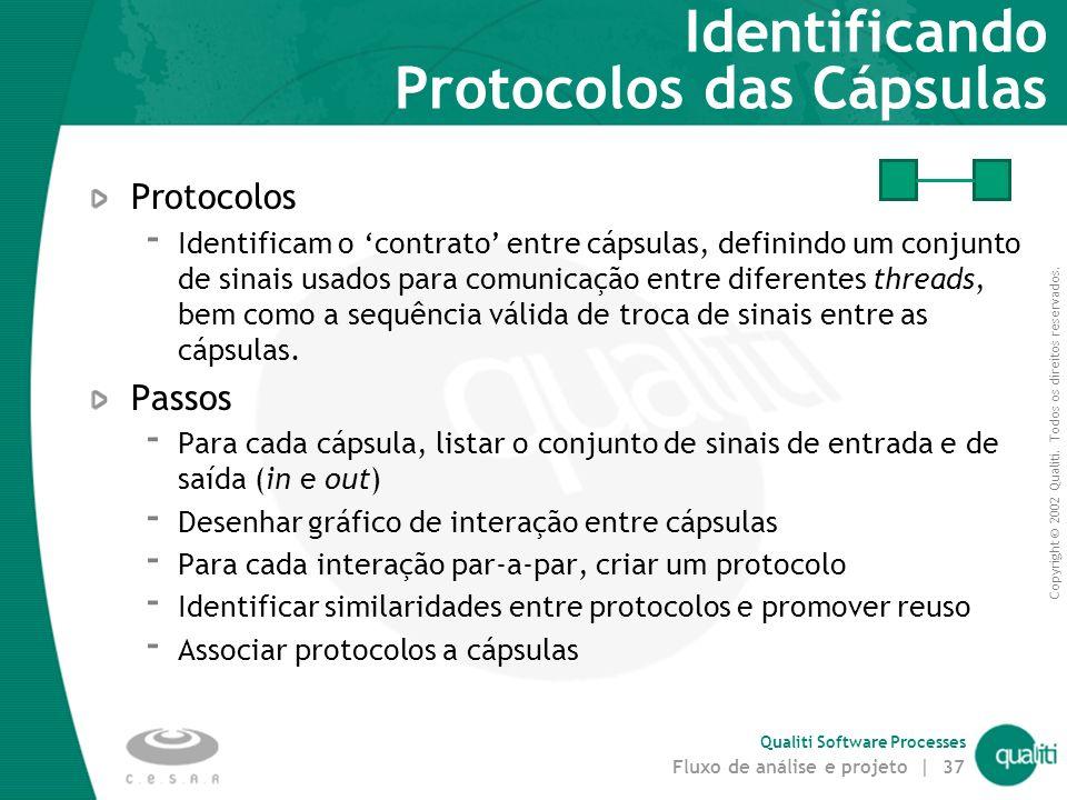 Identificando Protocolos das Cápsulas