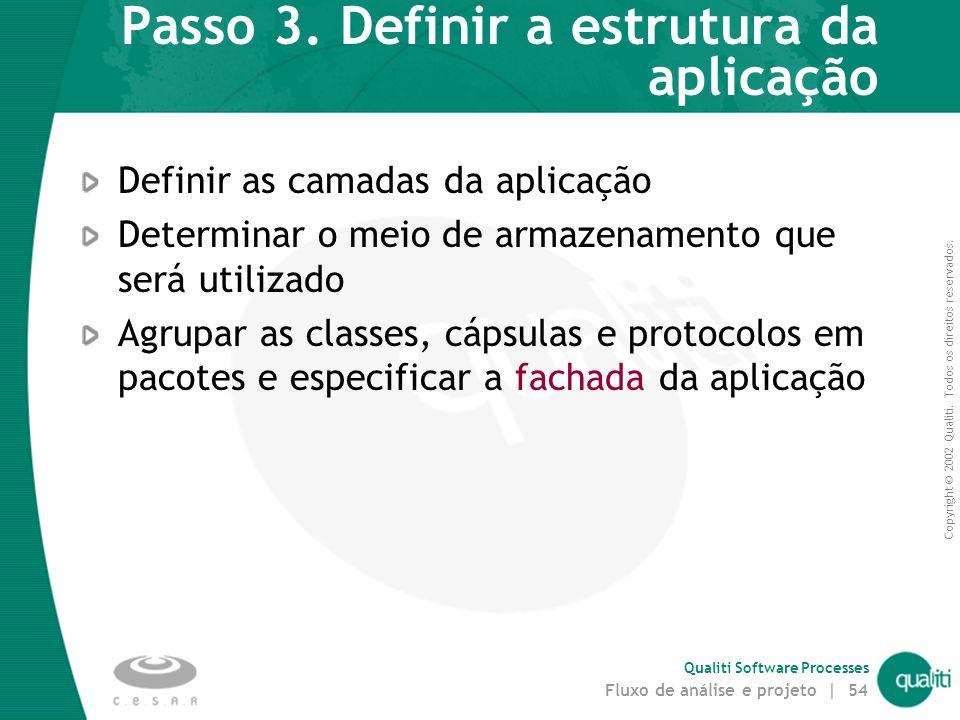 Passo 3. Definir a estrutura da aplicação