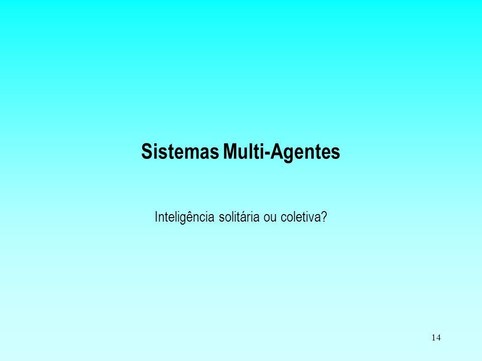 Sistemas Multi-Agentes