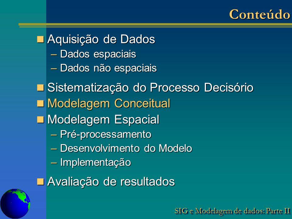 Conteúdo Aquisição de Dados Sistematização do Processo Decisório