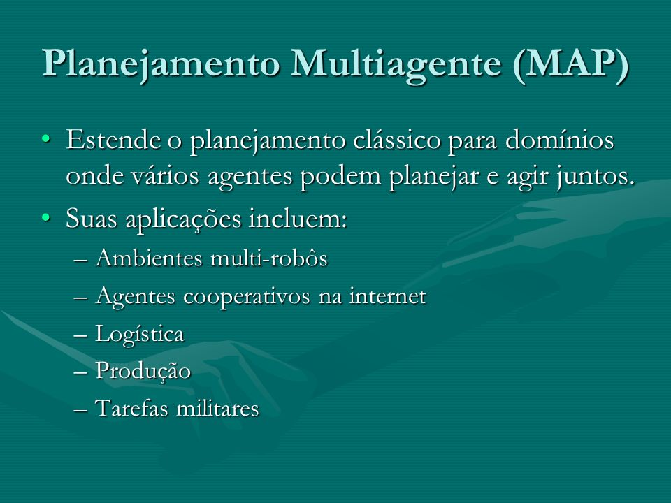Planejamento Multiagente (MAP)