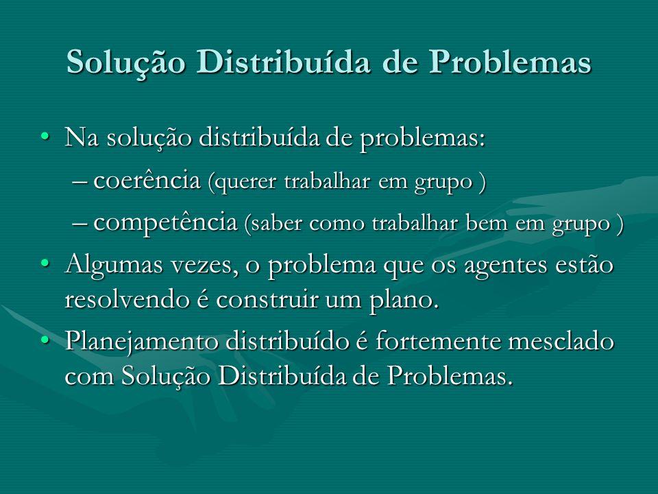 Solução Distribuída de Problemas