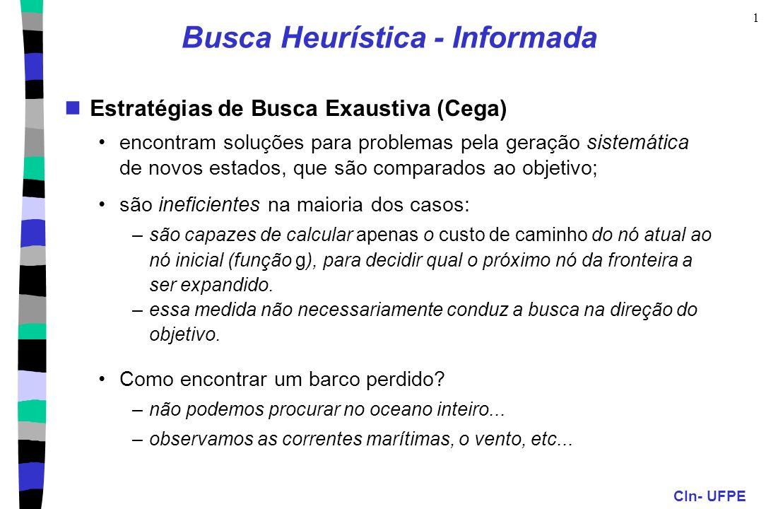 Busca Heurística - Informada