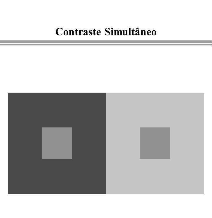 Luz e Cor 3/25/2017 Contraste Simultâneo Computação Gráfica - Gattass