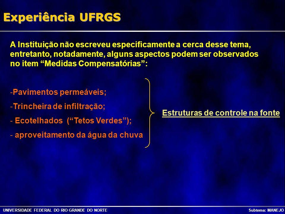 Experiência UFRGS