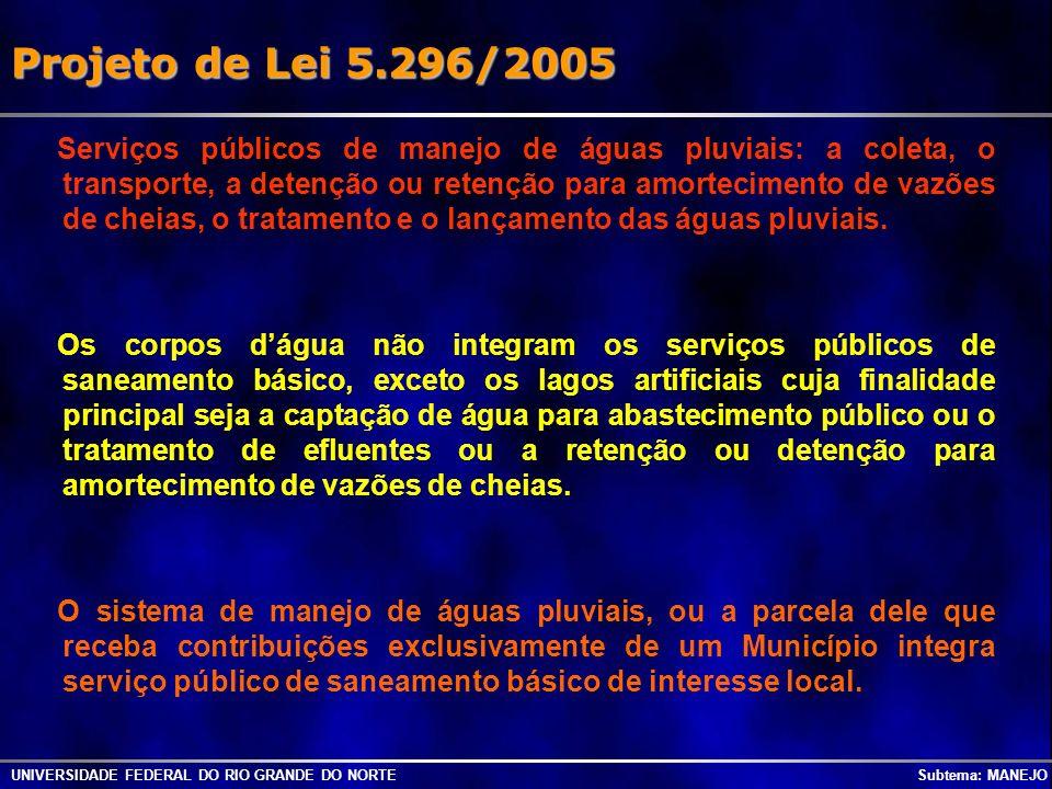 Projeto de Lei 5.296/2005