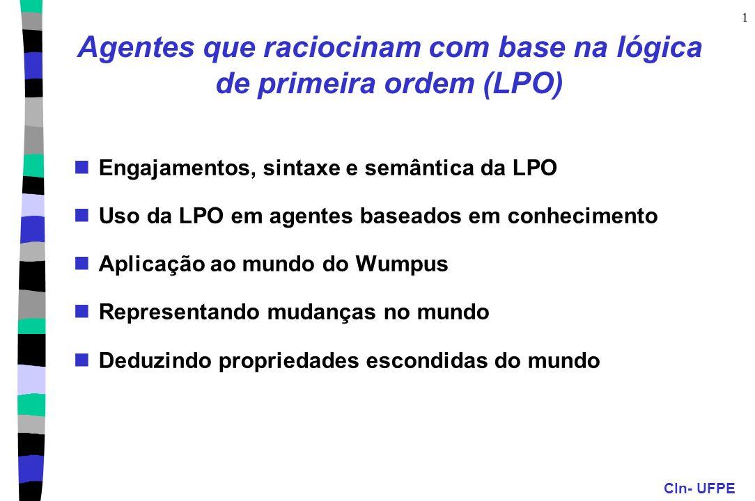 Agentes que raciocinam com base na lógica de primeira ordem (LPO)