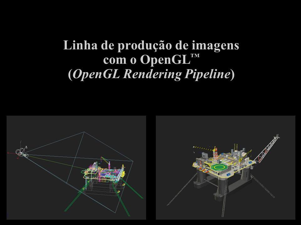 Linha de produção de imagens com o OpenGL™ (OpenGL Rendering Pipeline)