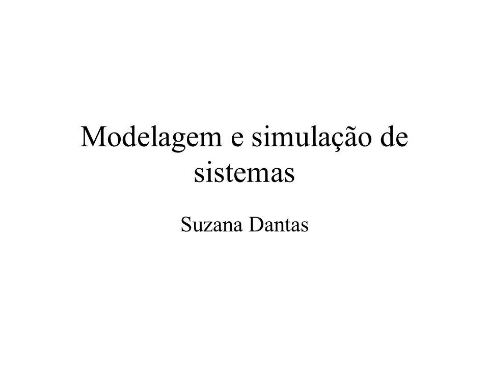 Modelagem e simulação de sistemas