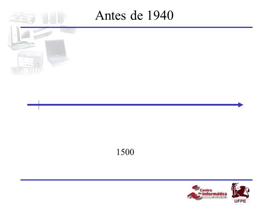 Antes de 1940 1500