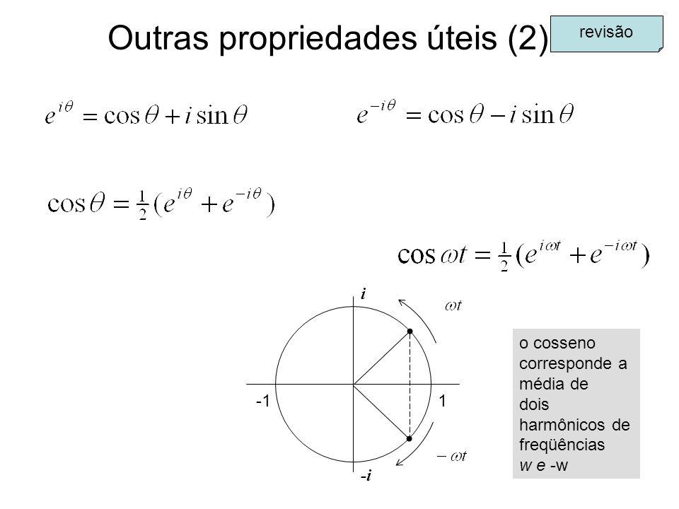 Outras propriedades úteis (2)