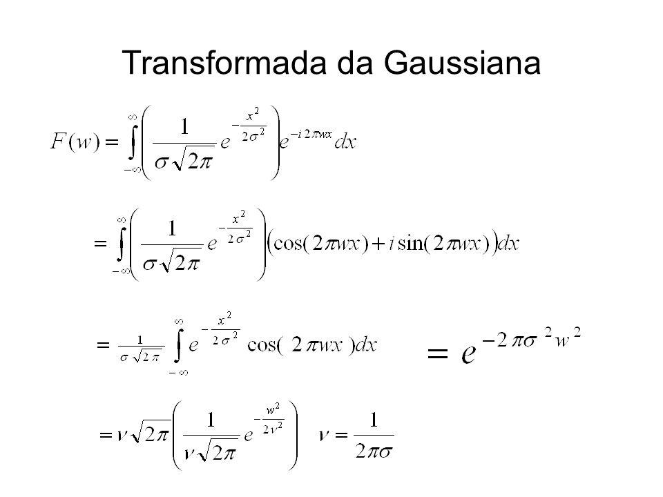 Transformada da Gaussiana