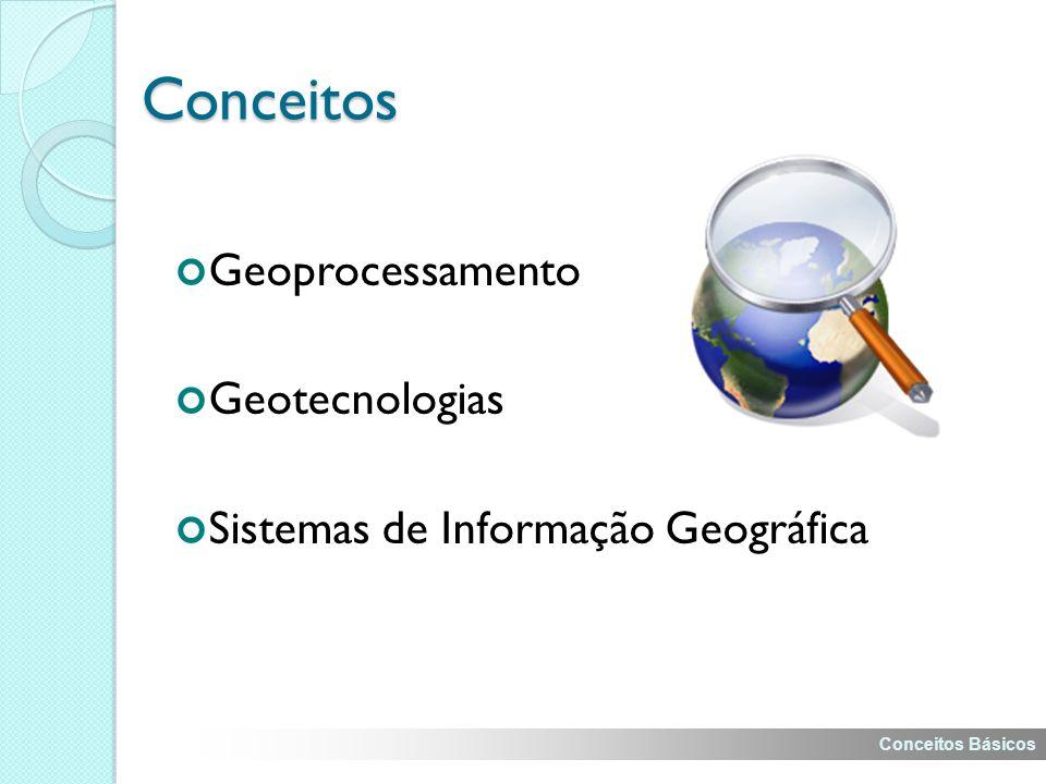 Conceitos Geoprocessamento Geotecnologias