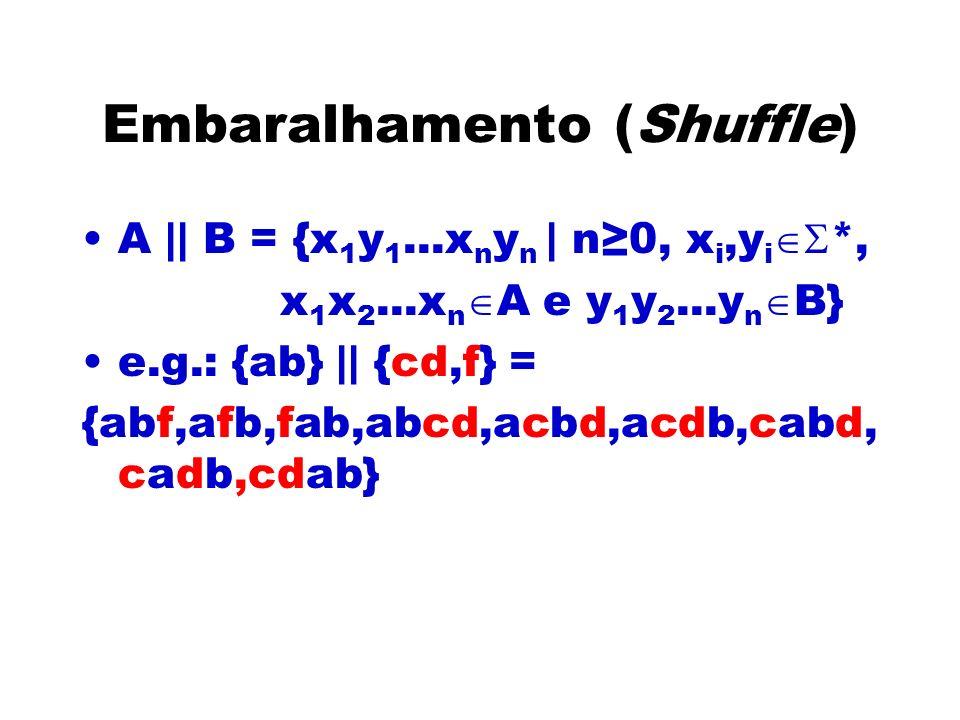 Embaralhamento (Shuffle)
