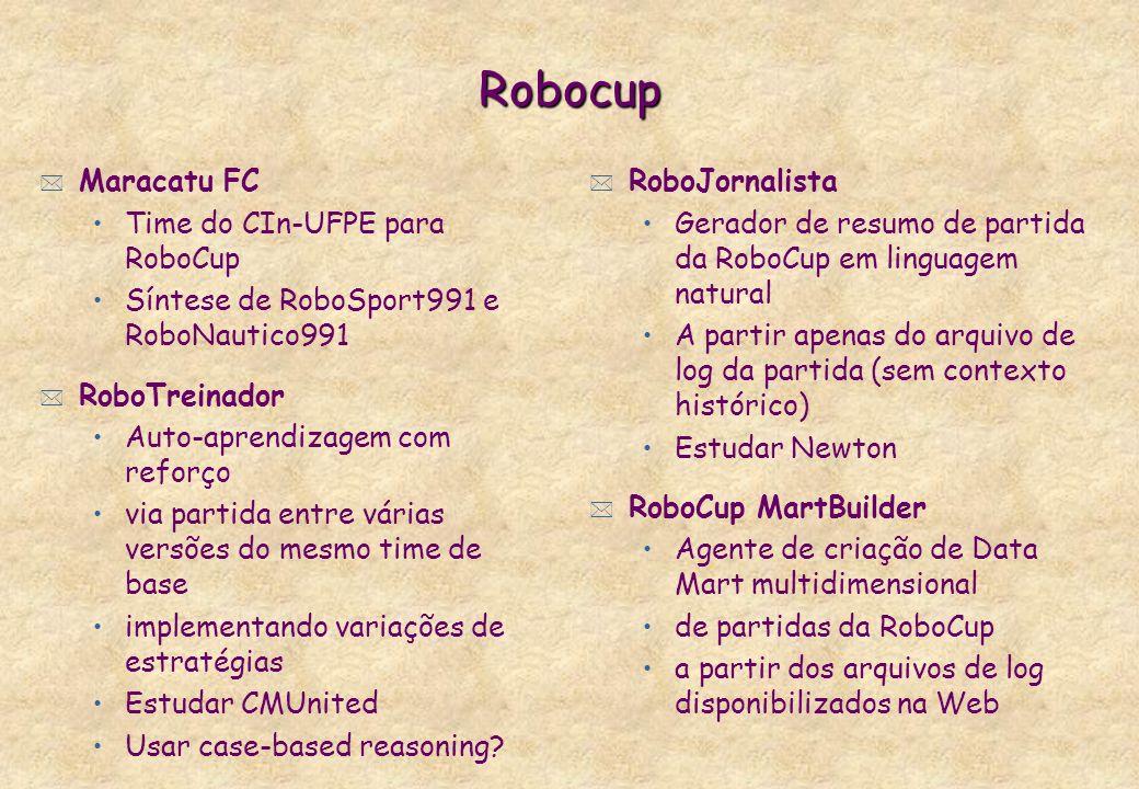 Robocup Maracatu FC Time do CIn-UFPE para RoboCup