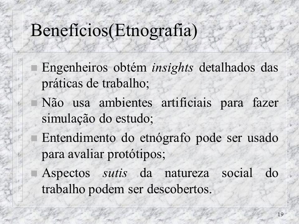 Benefícios(Etnografia)