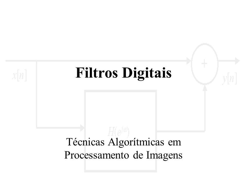 Técnicas Algorítmicas em Processamento de Imagens