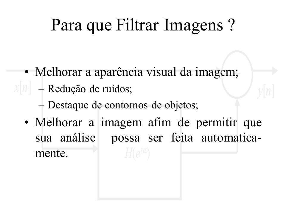 Para que Filtrar Imagens