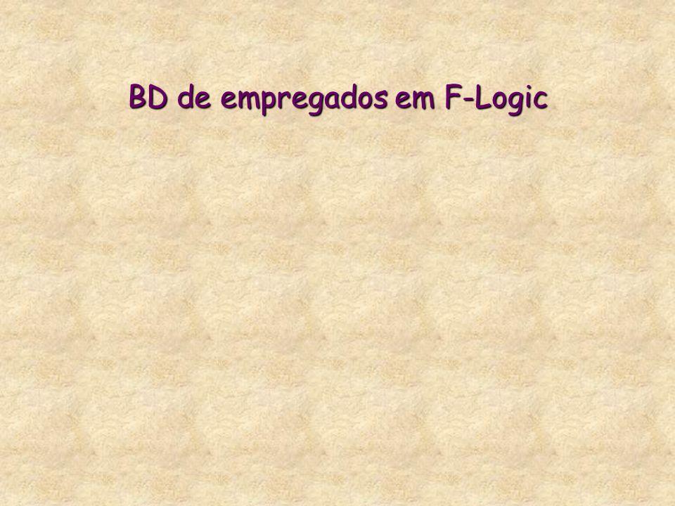 BD de empregados em F-Logic