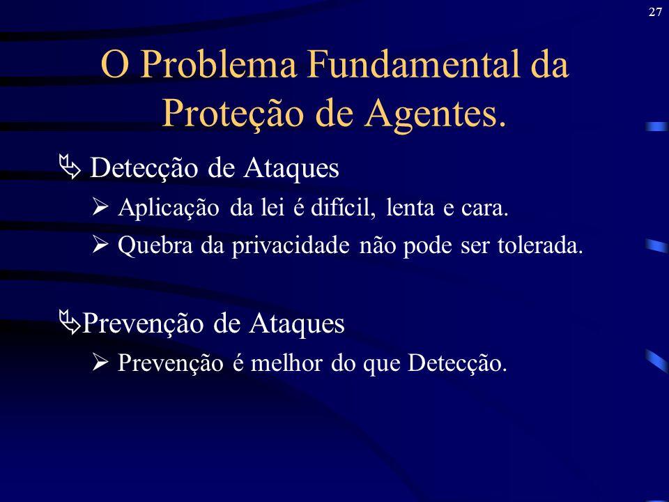 O Problema Fundamental da Proteção de Agentes.