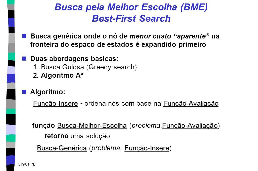 Busca pela Melhor Escolha (BME) Best-First Search
