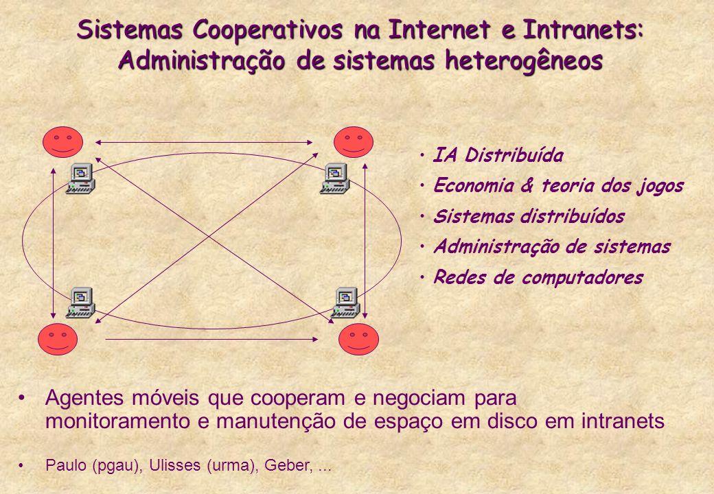 Sistemas Cooperativos na Internet e Intranets: Administração de sistemas heterogêneos