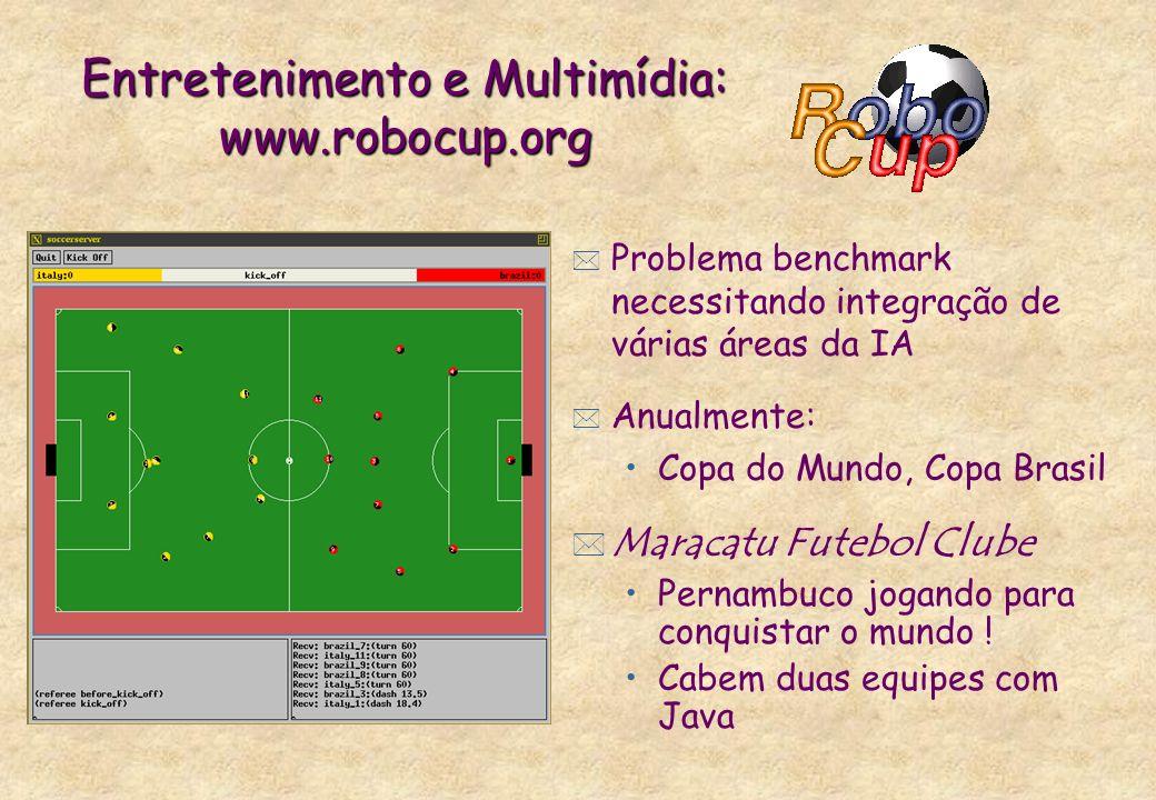 Entretenimento e Multimídia: www.robocup.org