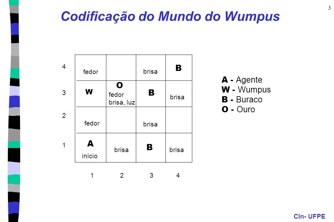 Codificação do Mundo do Wumpus