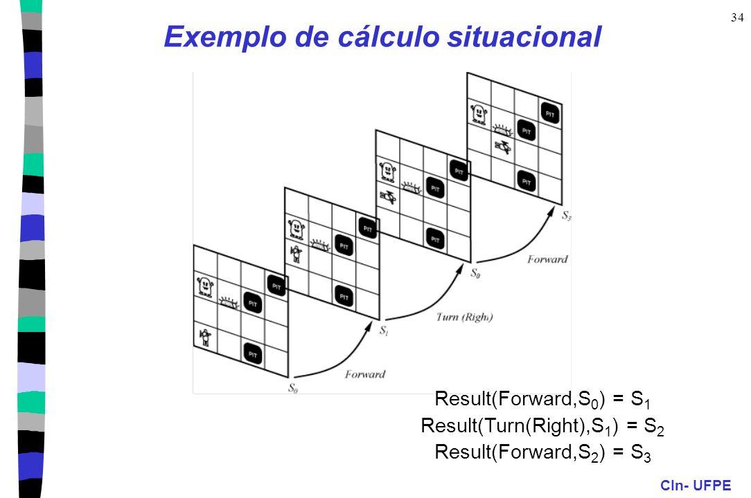 Exemplo de cálculo situacional